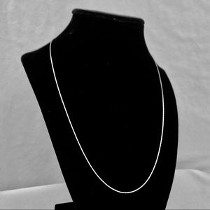 Italian Sterling Silver Spark Chain 20 Inches